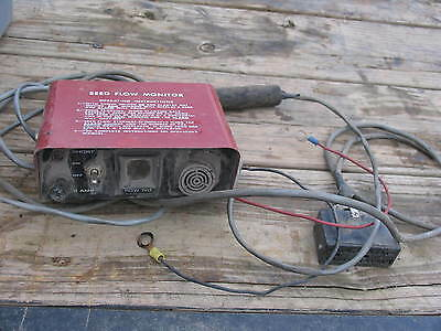 IH INTERNATIONAL FARMALL  Seed Flow Monitor Planter
