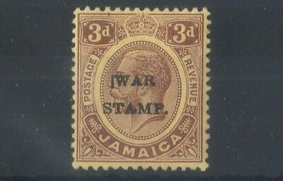 JAMAICA (SGB6) S 72 3d War Tax - SHR - Unlisted variety - 1War Tax