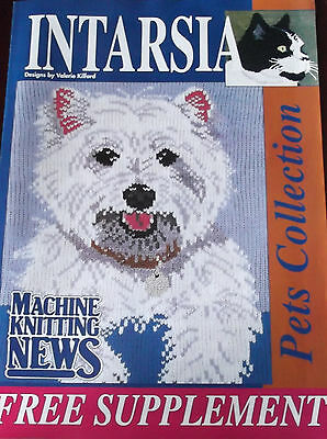Machine Knitting News - Pets Collection -INTARSIA Magazine Supplement