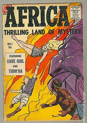 Africa Thrilling Land of Mystery (1955) #1 GD+ 2.5