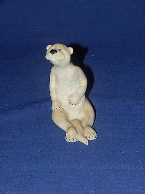 "QUARRY CRITTERS River Otter Ois 4"" tall figurine - 2000cr - used - excellent"