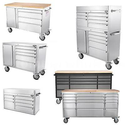 THOR Large Stainless Steel Rolling Tool Chest Tool Box Tool Storage Box P9T7