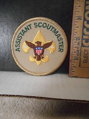 Boy Scouts Of America Assistant Scoutmaster Patch  616TB.
