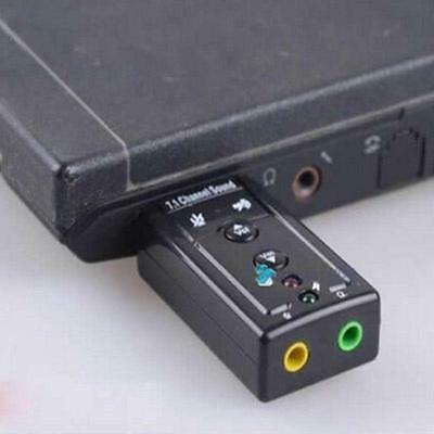 Usb External 3D Virtual 7.1 Channel Audio Pc Laptop Sound Card Adapter Ng