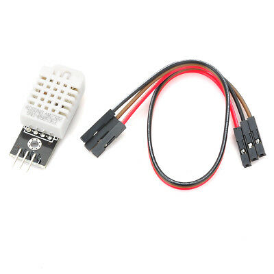 Y1301 FR4 DHT22 2302 Digital Temperature and Humidity Sensor Module - White