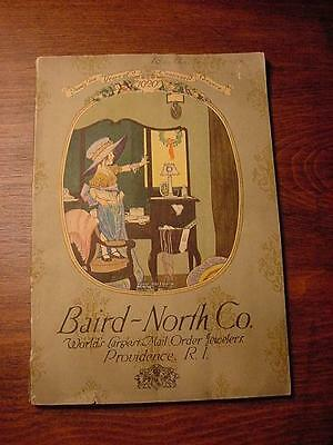 1920-Baird-North Co. World's Largest Mail Order Jewelry + Gifts Catalog-165 Pgs