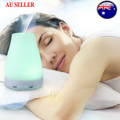 Electric Oil Essential Burner Aroma Diffuser Humidifier Air Purifier LED 100ml