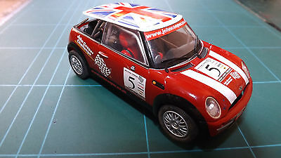SCALEXTRIC MINI COOPER Analogue Car !