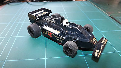 SCALEXTRIC WOLF F1 Car - With New Rear Tyres !