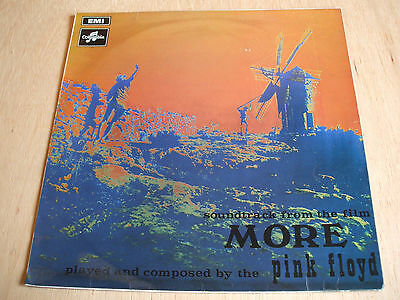 pink floyd  SOUNDTRACK FROM THE FILM MORE  Vinyl  LP original  1970's uk press