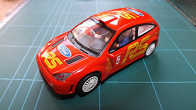 SCALEXTRIC FORD FOCUS Racing Car !