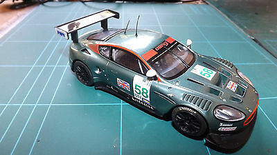 SCALEXTRIC ASTON MARTIN DBR9 DIGITAL Car With Great Lights !