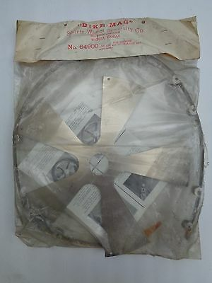 Vintage Bicycle Mag Wheel Kit-NOS for Schwinn Stingray Rear S-2 - RARE ACCESSORY