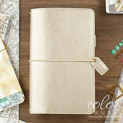 Webster's Pages Champagne Travelers Color Crush Planner