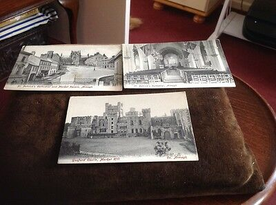 Vintage Postcards Set Of 3 Of Armagh Ireland
