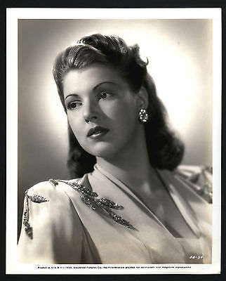 Diana Barrymore, 1945, film and stage actress, Pressefoto, press photo /120