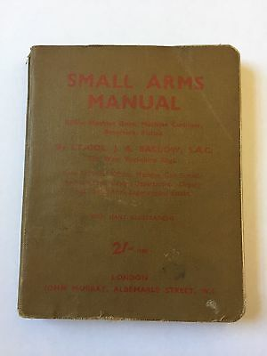 WW2 British Army / Home Guard Small Arms Manual Allied and Axis Weapons 1942.