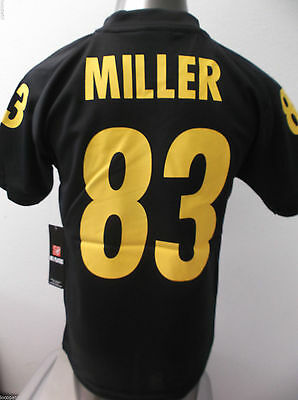 NFL Team Apparel Youth Pittsburgh Steelers Heath Miller Jersey NWT S e86ca5562