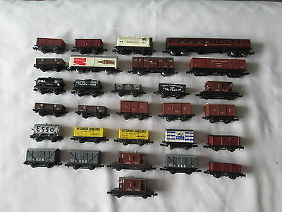 29 x N Gauge Rolling Stock Various Manufacturers Graham Farish etc.