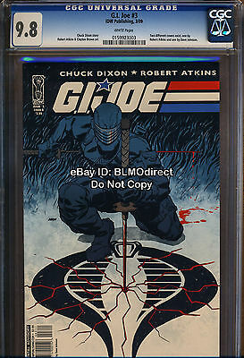 CGC 9.8 G. I. Joe #3 Dave Johnson First Print Variant HIghest! GI Joe