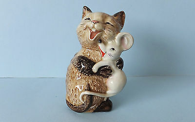 Beswick Cat & Mouse Laughing - 2100