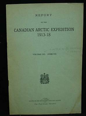 Report Canadian Arctic Expedition 1913-18 Vol III Insects Contents & Preface