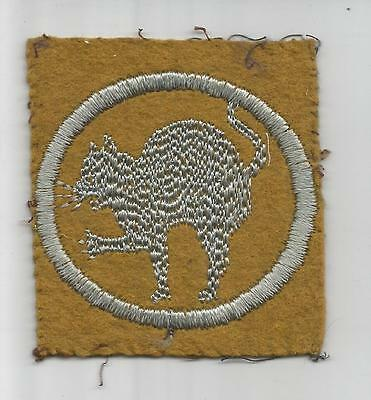 "WW 1 US Army 81st Division 162nd Infantry Brigade 3"" X 2-1/2"" Patch Inv# G754"