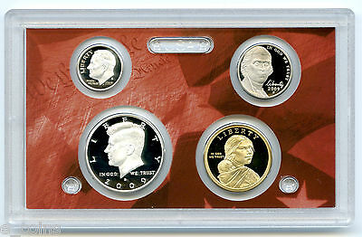 2009 S Us Mint Silver Half Dime Nickel Sacagawea Proof 4 Coin Set No Box Coa