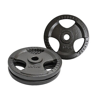 20Kg X 2 Olympic Weight Plate - Energetics Weight Plates - Home Gym - Total 40Kg