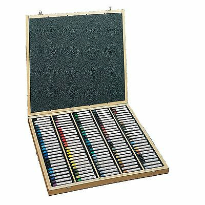 Sennelier Oil Pastel Assorted Set Of 120 colour pastels in wooden box set artist