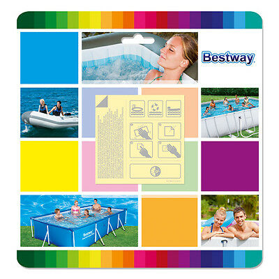 Bestway Vinyl Repair Patch Kit Above Ground Swimming Pool Inflatable Bouncer
