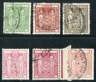 NEW ZEALAND  Very  NIce  Used  POSTAL - FISCAL ISSUES UPTOWN 27716