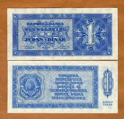 Yugoslavia, 1 Dinar, 1950, P-67P, UNC > Not Issued