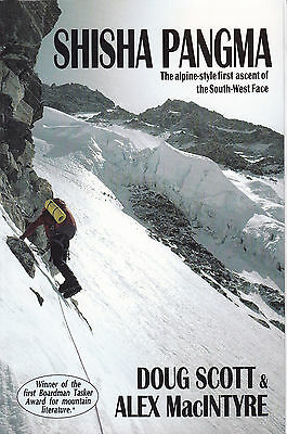 Shisha Pangma SIGNED Doug Scott Alpine Style First Ascent of the South West Face