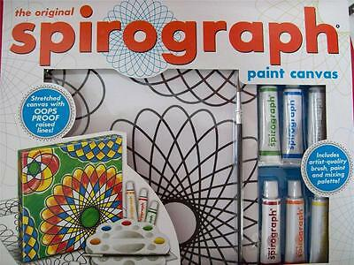 The Original Spirograph Paint Canvas Set (Brand New) (2013)