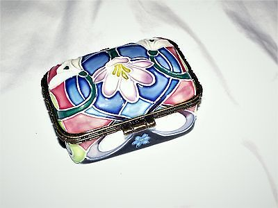 Old Tupton Ware Jeanne Mcdougal Colourful Trinket Box Very Pretty