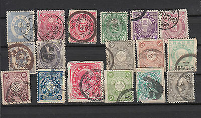 A very nice mixed Japanese group with nice Postmarks