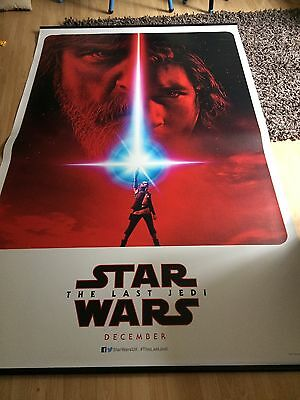 Rare Star Wars The Last Jedi Cinema Banner 8x5ft Only 400 Made