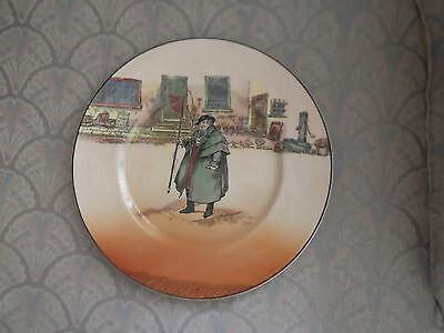 "Royal Doulton Dickens Ware Tony Weller Dinner (10.5"") Plate"
