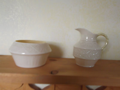 Belleek Toy Cleary Creamer and Sugar