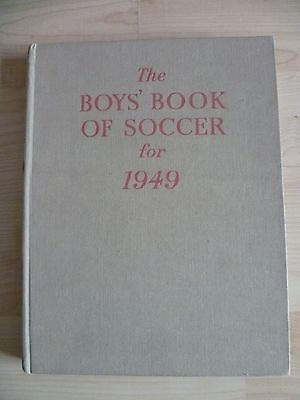 Vintage The Boys Book of Soccer for 1949