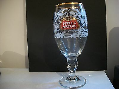 Very Rare- Limited Edition Stella Artois- 33 Cl-Belgian Beer Glass