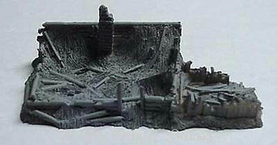 Monday Knight Prod Resin Terrain 15mm Beresina - Destroyed Building # Pack MINT