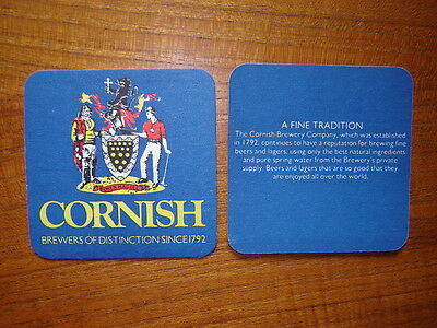 2  Cornish  Brewery  Beer  Mats / Coasters  New