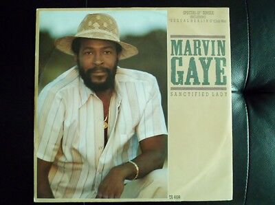 Marvin Gaye-Sanctfied Lady-Sexual Healing-Instrumental Version-Maxi Disc-Ex+/12""