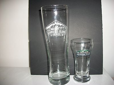 2- Different Granville Island Brewing- Beer Glasses