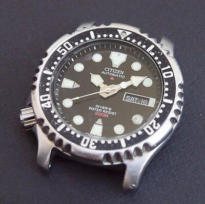 !! Citizen Promaster Diver Automatic Watch Montre Plongee Ancienne !!