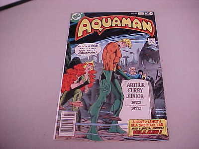 Aquaman Comic # 62 NM 1978 Funeral Of Aqau-baby Full Length Story
