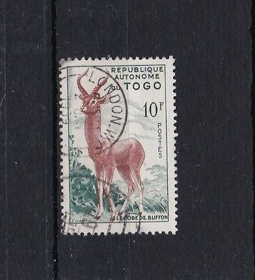 Togo - 1957 SG205 USED 10F stamp with LONDON cancel