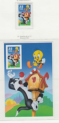 A Fantastic mint United States 1998 Sylvester and Tweety group